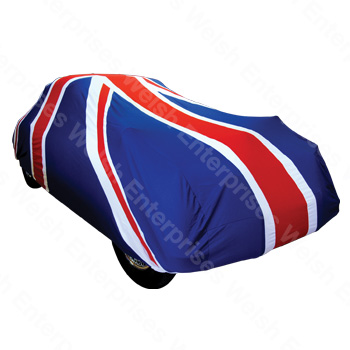 Union Jack Indoor Car Cover - Small