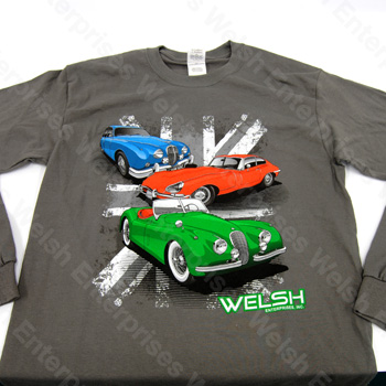 XK120 - E-Type - MK2 T-Shirt - Medium LS