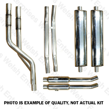 XK120 XK140 Stainless Steel Exhaust