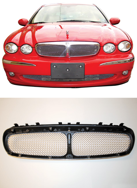 jaguar x type mesh grille kit c2s10796k ebay. Black Bedroom Furniture Sets. Home Design Ideas